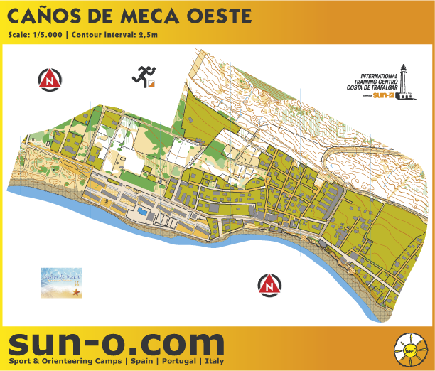 Andalucia SunO Week Training - 2013 - blank map (31/12/2012)